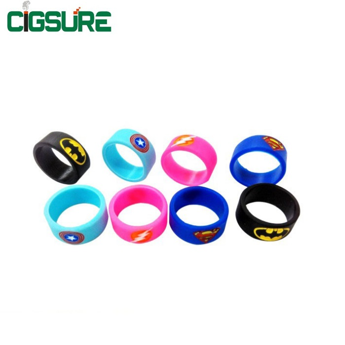 Vape Band Silicone Rings<